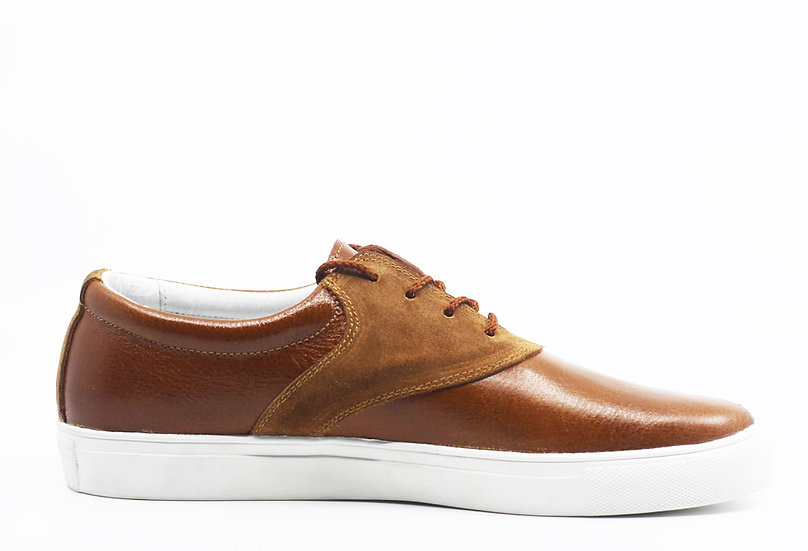 Leather & Suede Sneaker