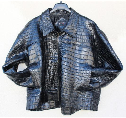 Genuine American Alligator Jacket