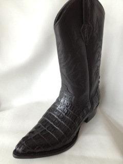 Western Crocodile Boots Style Roper