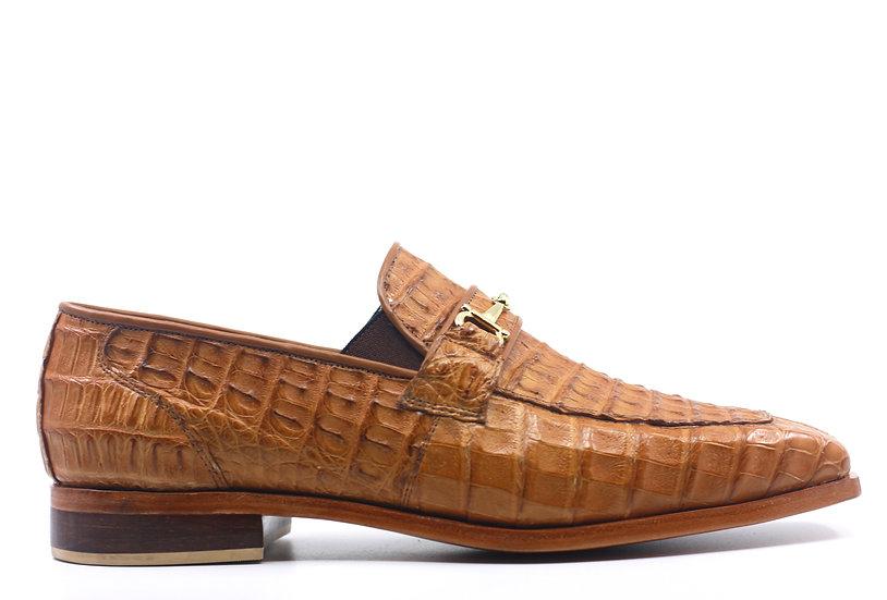 Full Hornback Crocodile Loafer
