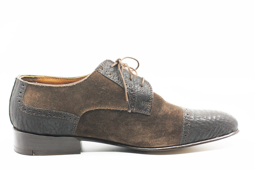 Suede & Leather CapToe Men's 9