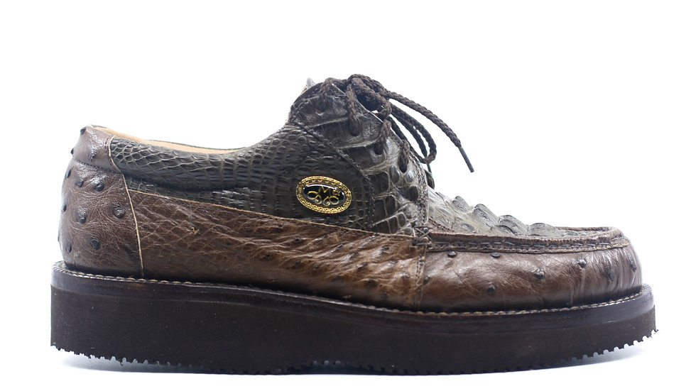 Crocodile and Ostrich Soft Sole US Men's 8