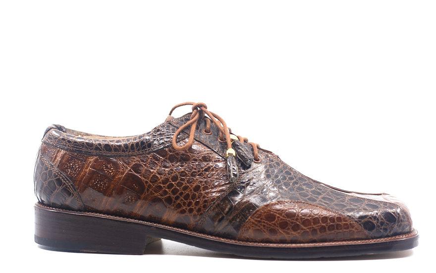 Alligator Square Toe Dress Shoe US 12