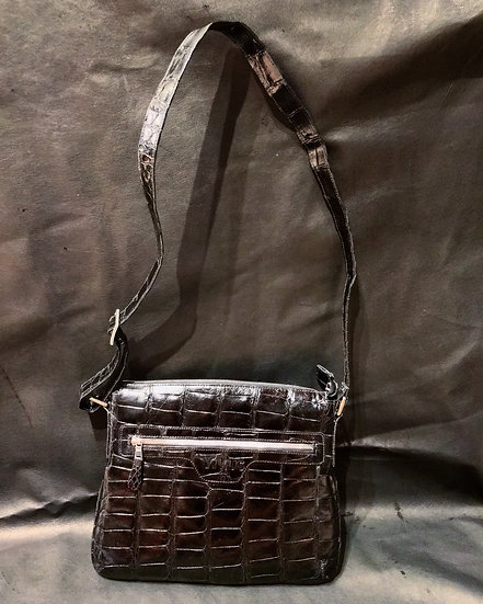 Full Alligator Laptop Bag