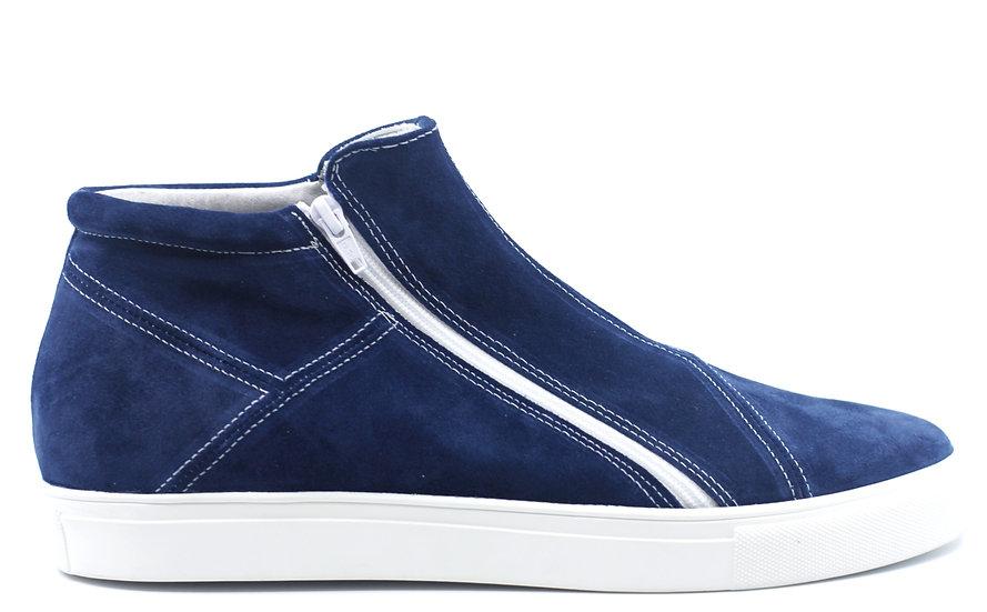 Suede Zipper Sneaker