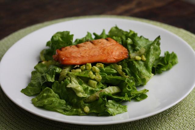 Simple Grilled Summer Salad