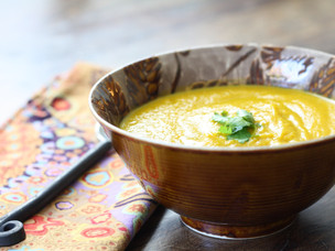 Butternut Squash & Carrot Souper Soup