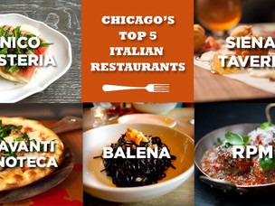 Chicago's Five Best Italian Restaurants