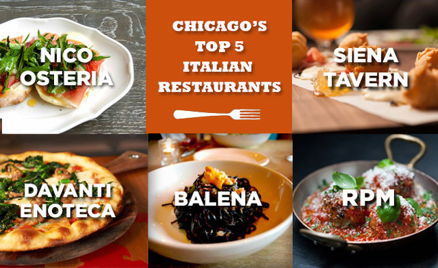 Chicago's Five Best Italian Restaurants