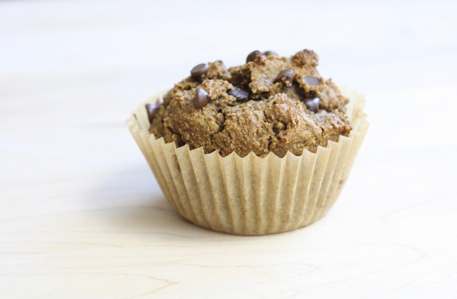 Gluten Free Chocolate Chip Pumpkin Muffins