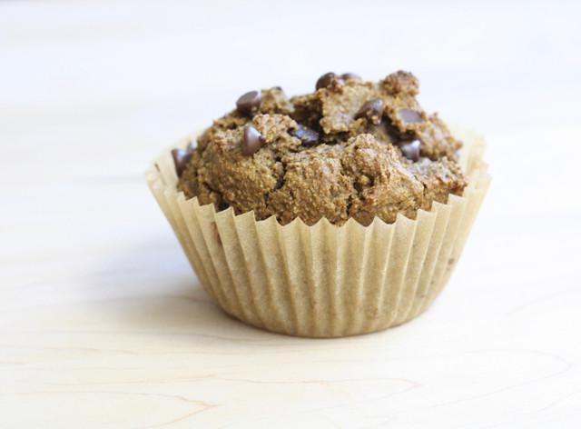 Gluten Free Chocolate Chip Pumpkin Muffins