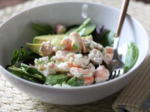 Shrimp Salad with Champagne Vinaigrette