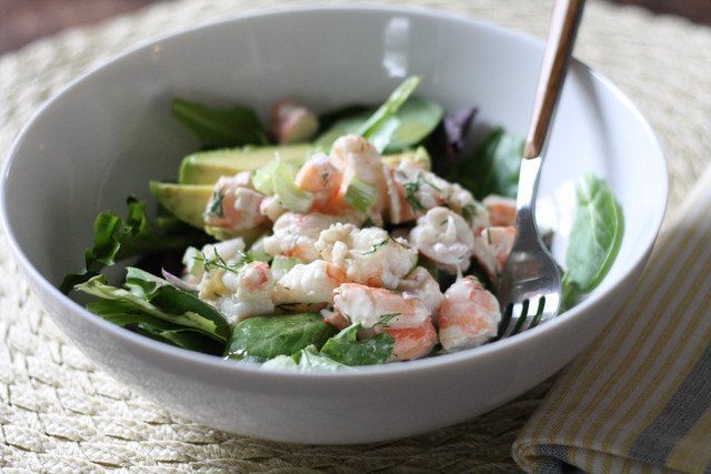 Shrimp Salad with Champagne Vinaigrette