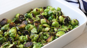 Crispy Healthier Brussels Sprouts