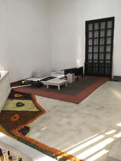 Ghandi's bedroom