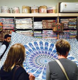 Textiles in Jaipur