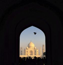 The romantic Taj.