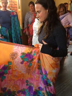 My first sari