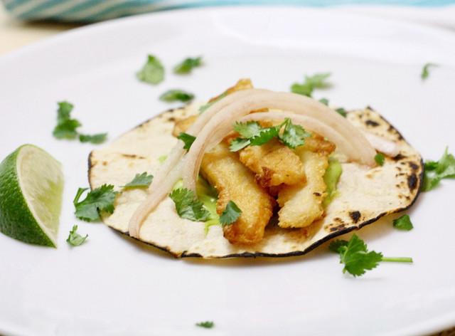 Crispy Gluten-Free Fish Tacos