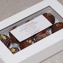 Assorted box of 8 truffles