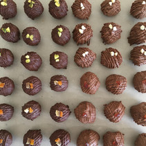 Handcrafted Dark and Milk Chocolates assorted flavours