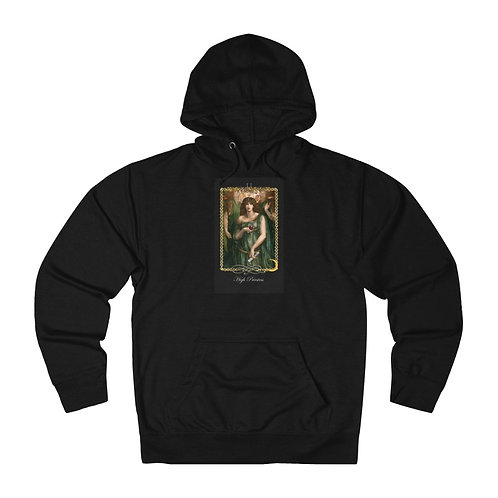 Tarot High Priestess - Unisex French Terry Hoodie