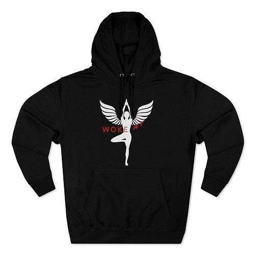 Woke AF - Unisex Premium Pullover Hoodie