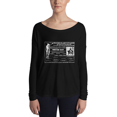 Vintage Psycho-Clairvoyance Ladies' Long Sleeve Tee