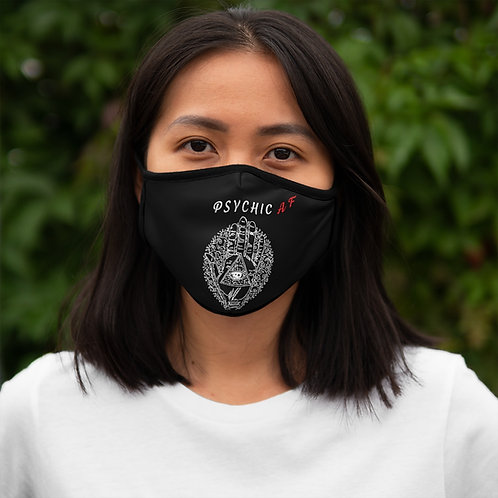 Psychic AF - Fitted Polyester Face Mask