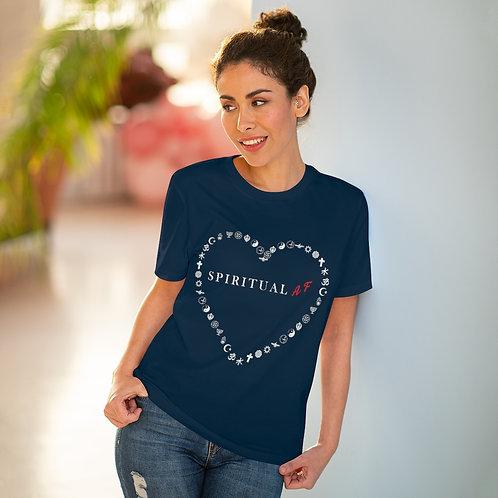 Spiritual AF - Organic Creator T-shirt - Unisex