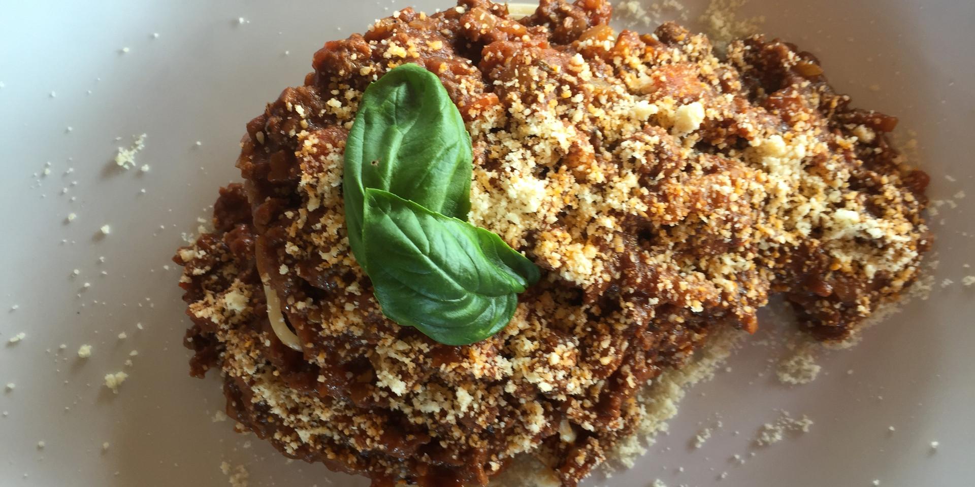 Spagettie Bolognese