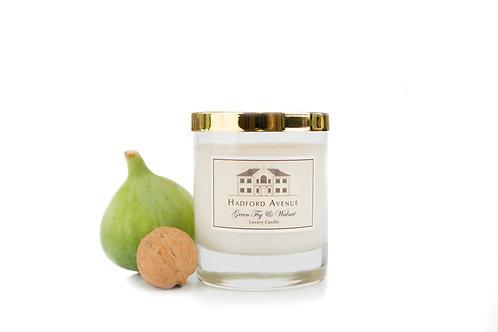 Green Fig & Walnut Candle