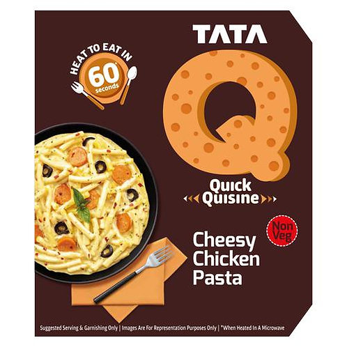 TATA Q Cheesy Chicken Pasta -305 gm