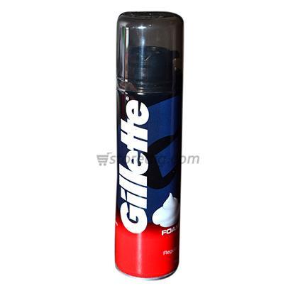 Gillette regular shaving foam 196 gm