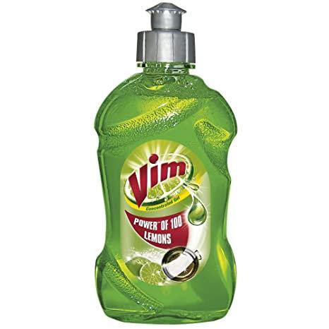 Vim Drop Act Gel - Lemon (250 ml)
