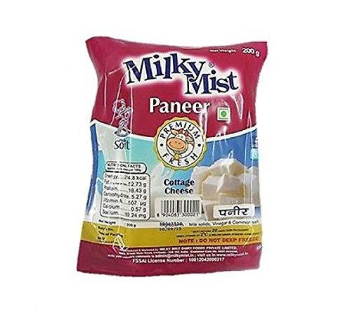 Milky Mist Paneer -Premium Fresh Pouch 200 gm