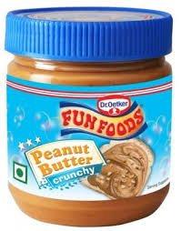 FunFoods Peanut Buttercrunchy 340g