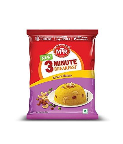 MTR 3 Min Kesari Halwa 60 gm