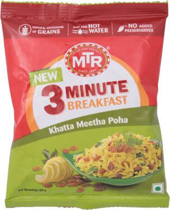 MTR Khatta Meetha Poha 60 gm