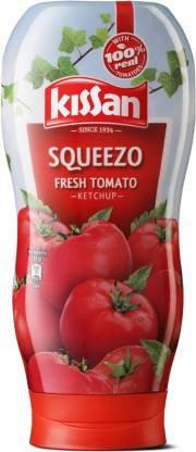 Kissan Fresh Tomato Ketchup Squeezo 450g