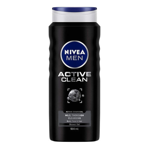 Nivea Shower gel men active clean (500 ml)