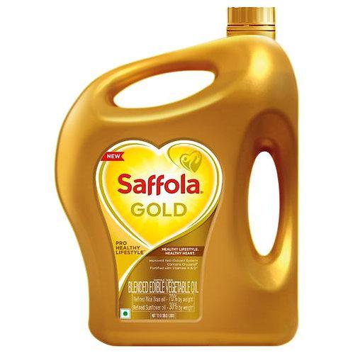 Saffola Gold oil Jar 5 ltr
