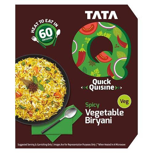 TATA Q Spicy Veg Biryani -330 gm