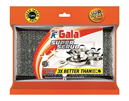 Gala Super Scrub Pack of 2 pcs