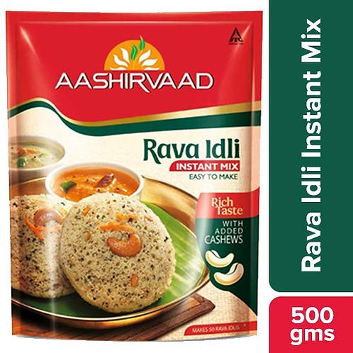Aashirvaad Rava Idli Mix - 500 gm