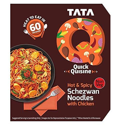 TATA Q Hot & Spicy Schnod Chicken Noodles -305 gm