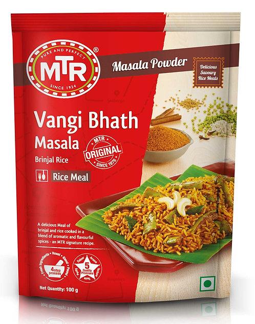 MTR  Vangi Bhath Powder 100 gm