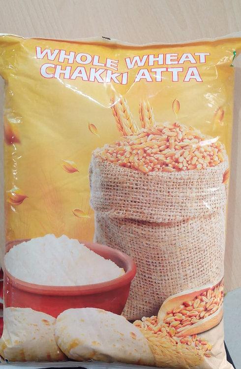 Whole Wheat Chakki Atta5 kg