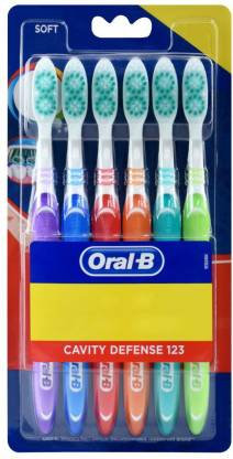 Oral-B 123 cavity defence 6pc