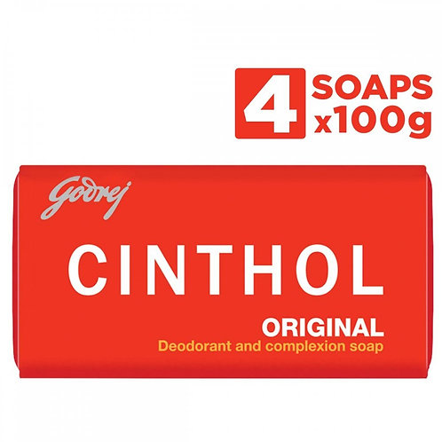 Cinthol Original Soap (100 gm*4)